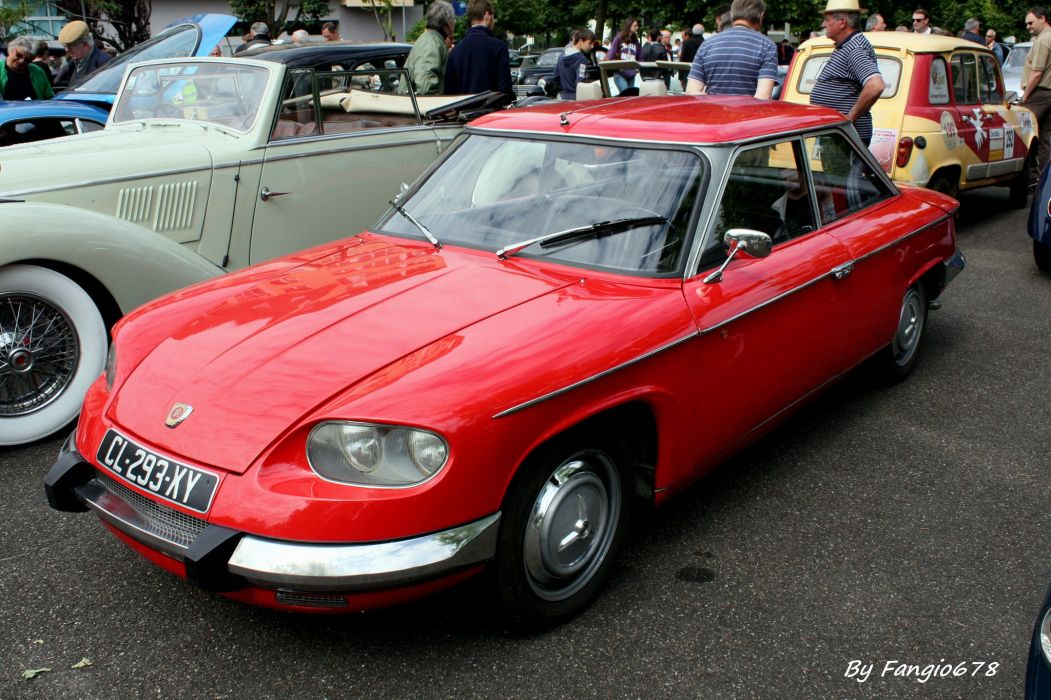 Panhard PL24 BT cars classic french wallpaper