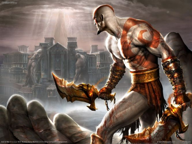 GOD OF WAR fighting warrior action adventure godwar fantasy wallpaper