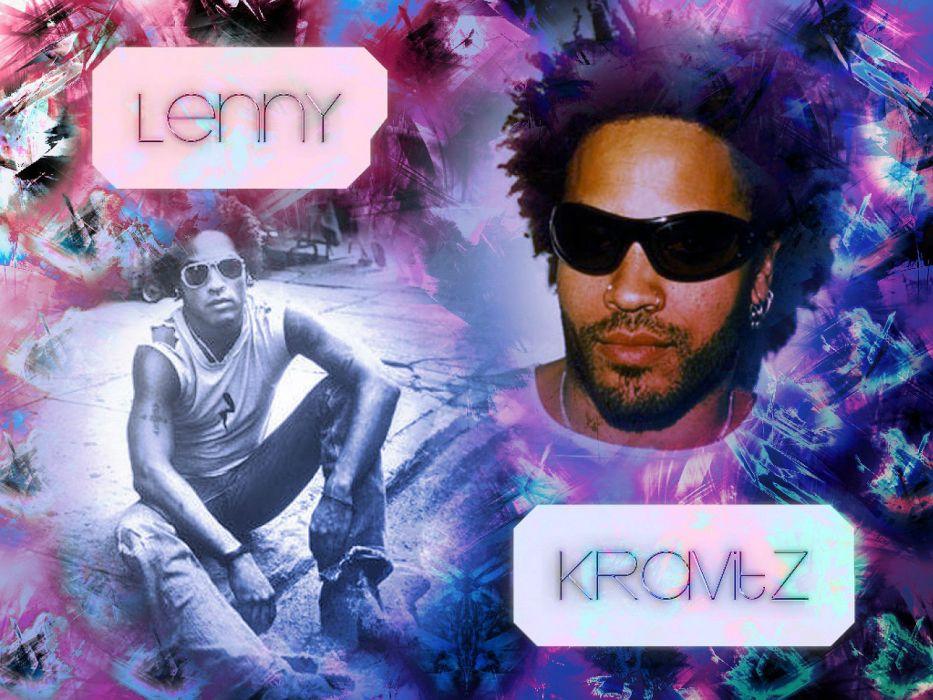 LENNY KRAVITZ funk hard rock singer psychedelic soul neo guitar wallpaper