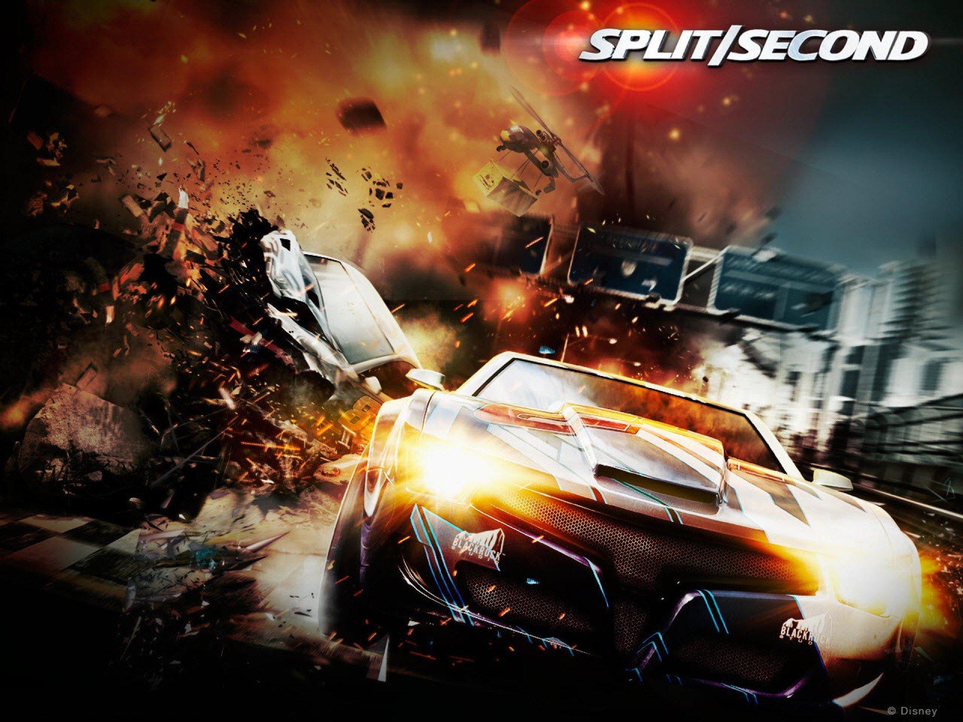 split second action racing race video game arcade. Black Bedroom Furniture Sets. Home Design Ideas