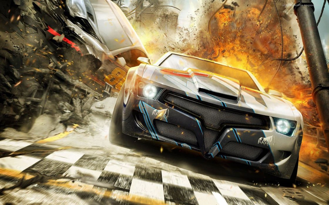 SPLIT SECOND action racing race video game arcade splitsecond velocity disney wallpaper