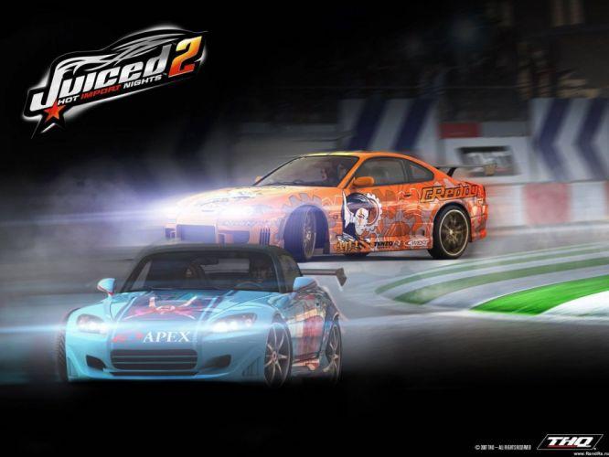 JUICED drift tuning race racing action arcade poster wallpaper