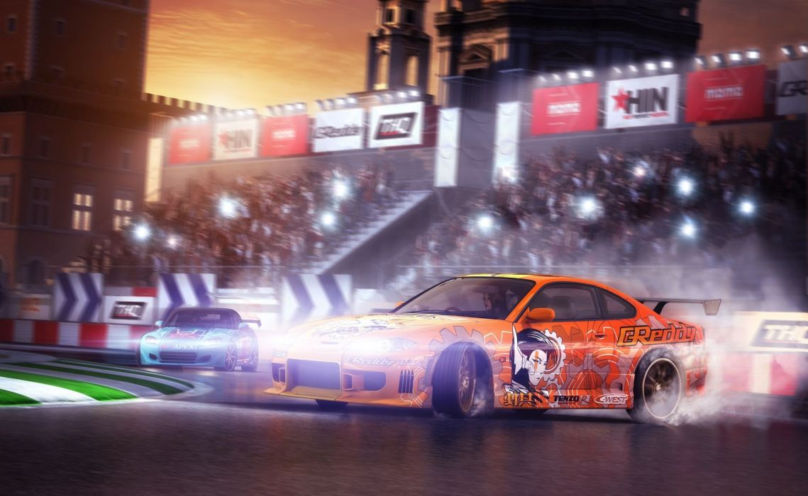 JUICED drift tuning race racing action arcade wallpaper