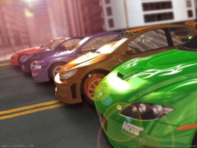 JUICED drift tuning race racing action arcade wallpaper