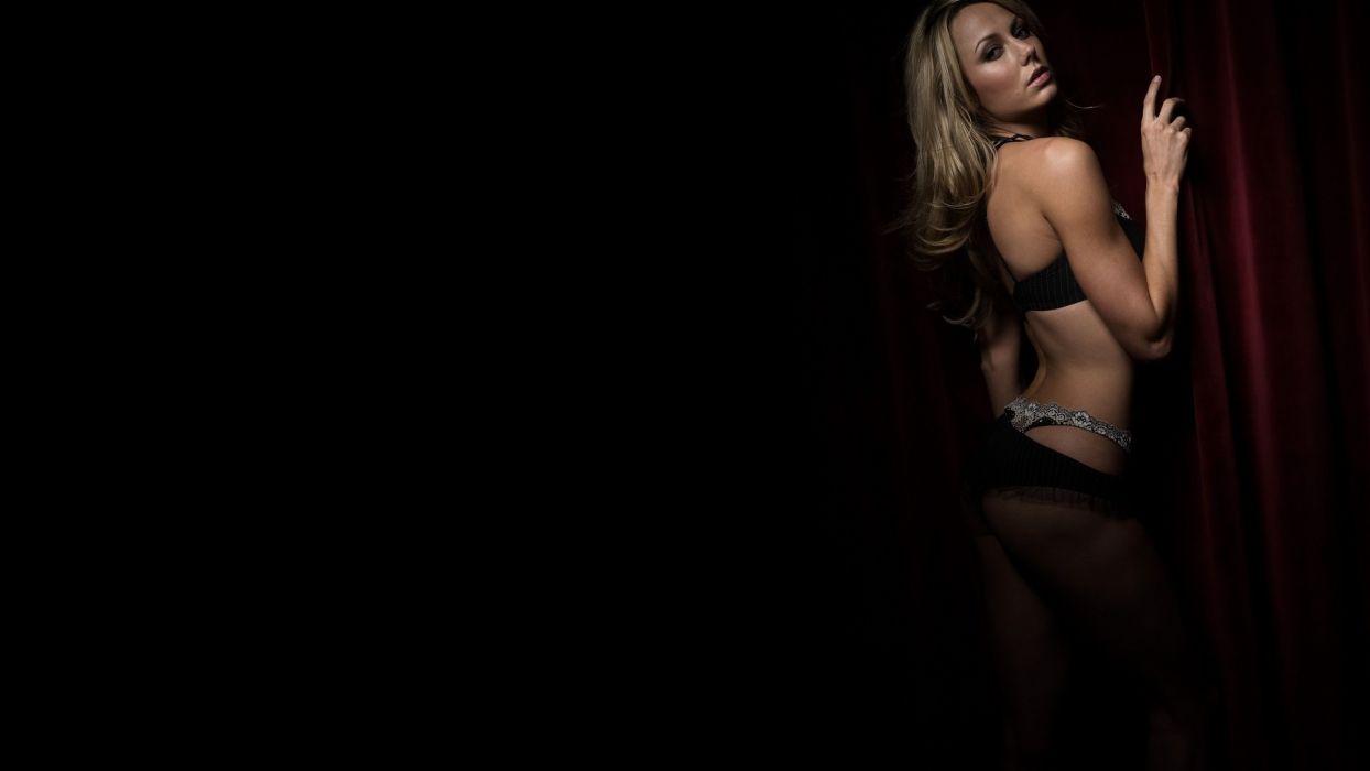 Stacy Keibler model actress wallpaper
