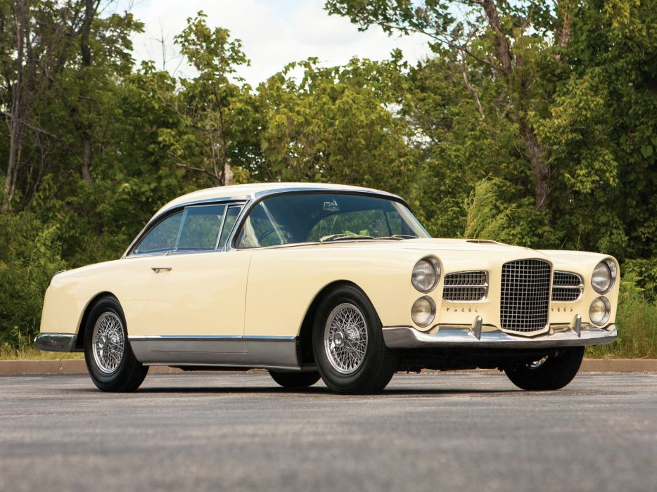 Facel-Vega HK 500 coupe classic cars french wallpaper