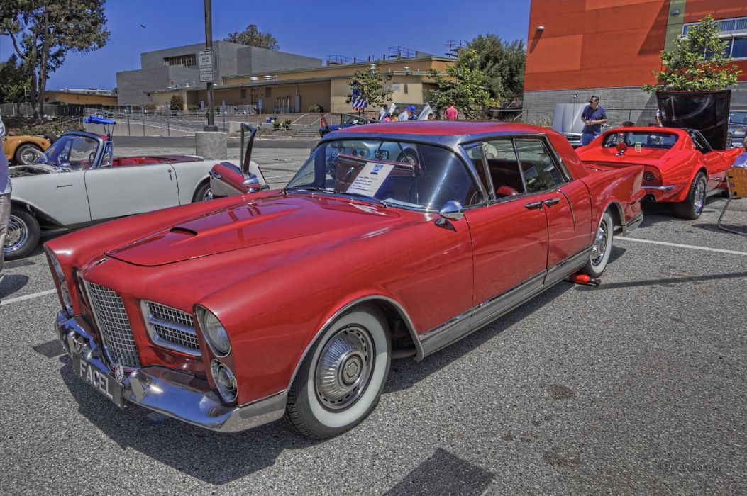 Facel-Vega Excellence coupe classic cars french wallpaper