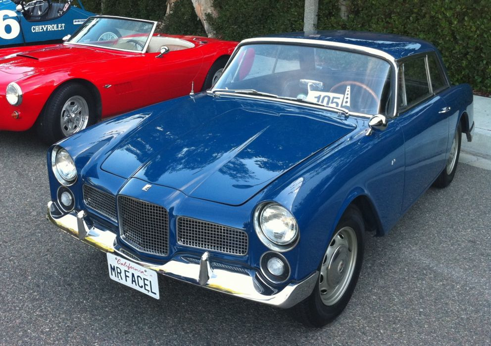 Facel-Vega facellia coupe classic cars french wallpaper