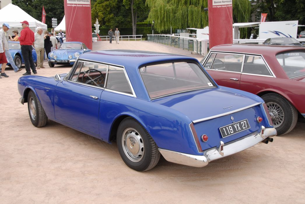 Facel-Vega facellia coupe classic cars french wallpaper