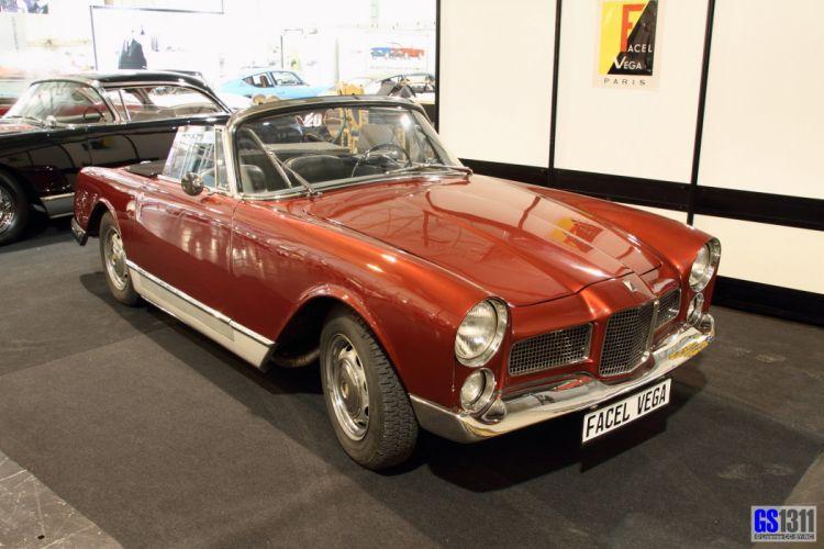 Facel-Vega facellia convertible classic cars french wallpaper