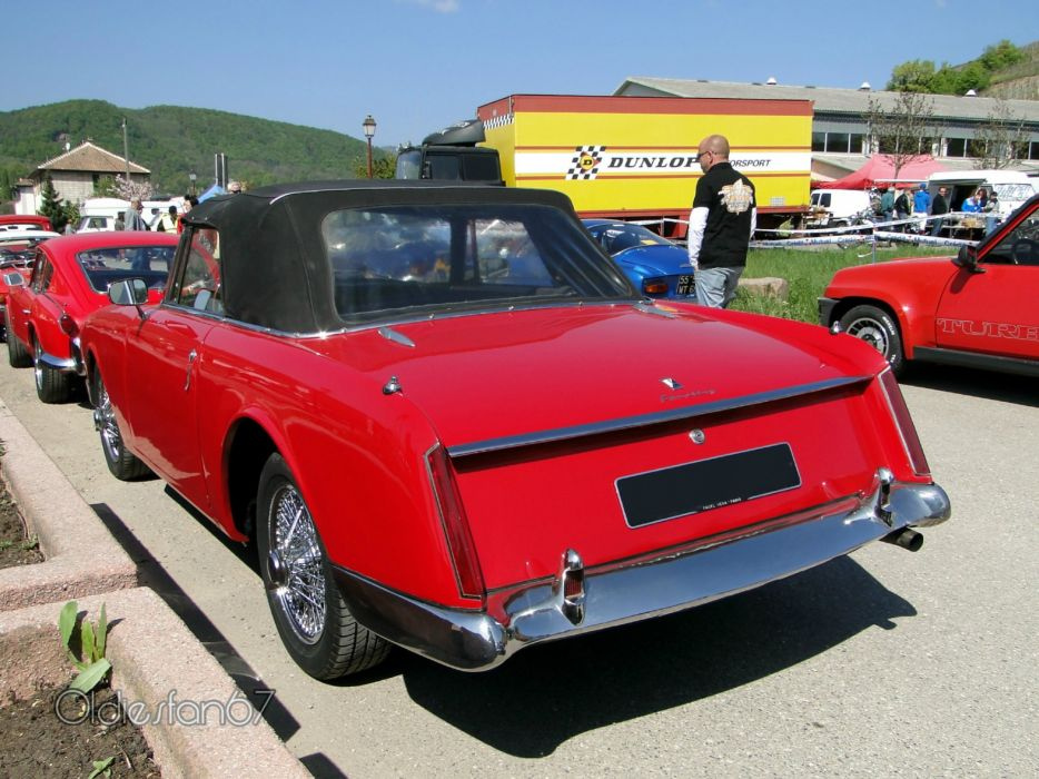 Facel-Vega facellia convertible classic cars french wallpaper