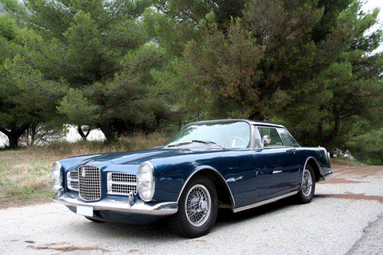Facel-Vega Facel II coupe classic cars french wallpaper
