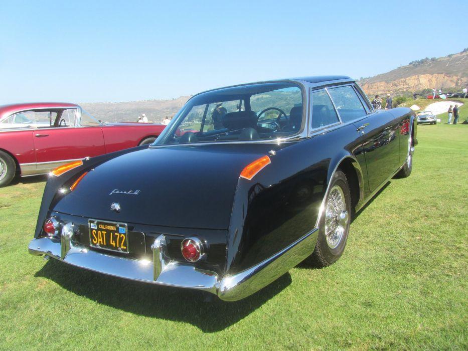 cars classic convertible facel II Facel-Vega french wallpaper