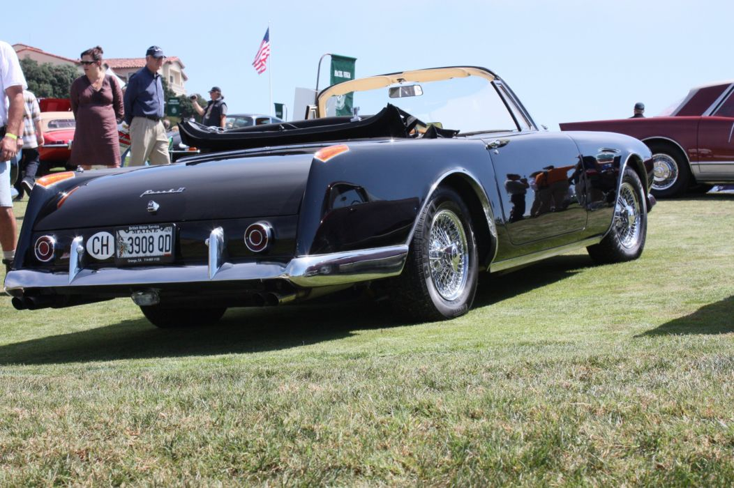 cars classic convertible facel II Facel-Vega french wallpaper