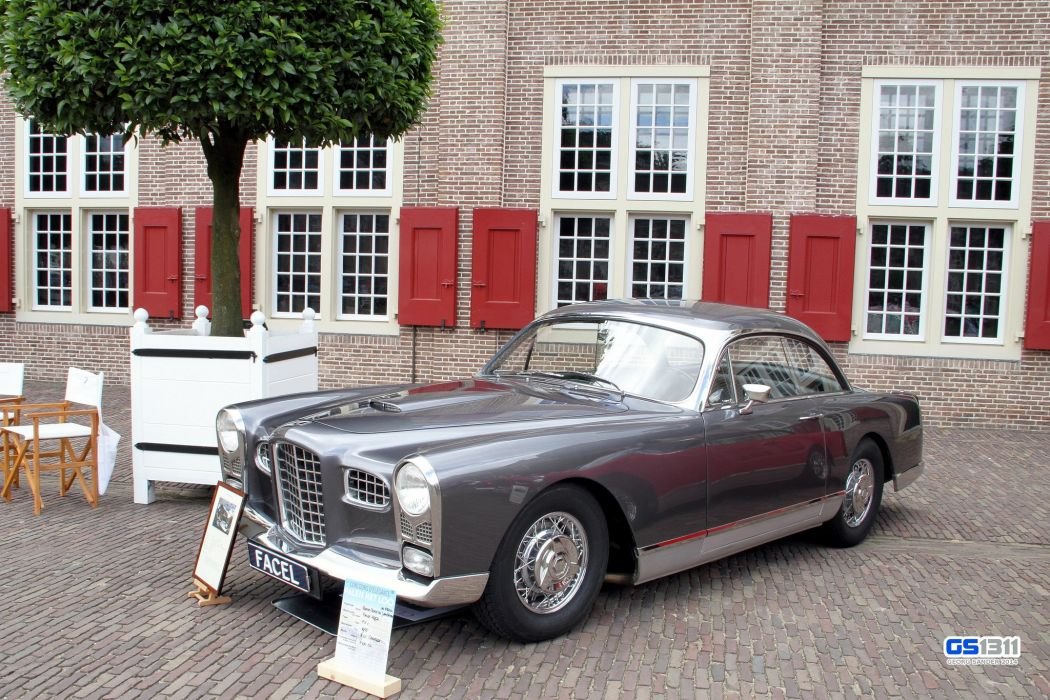 cars classic coupe FV1 Facel-Vega french wallpaper