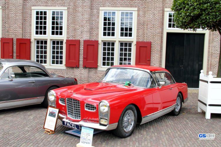 cars classic coupe FV2 Facel-Vega french wallpaper