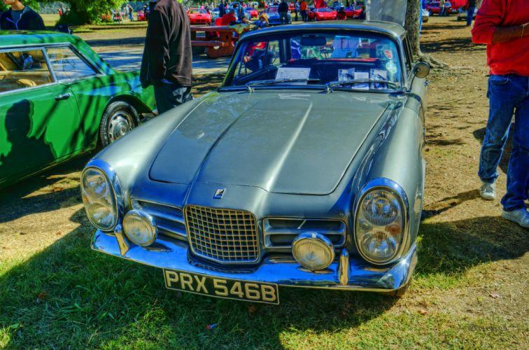 cars classic FV3 Facel-Vega french coupe wallpaper