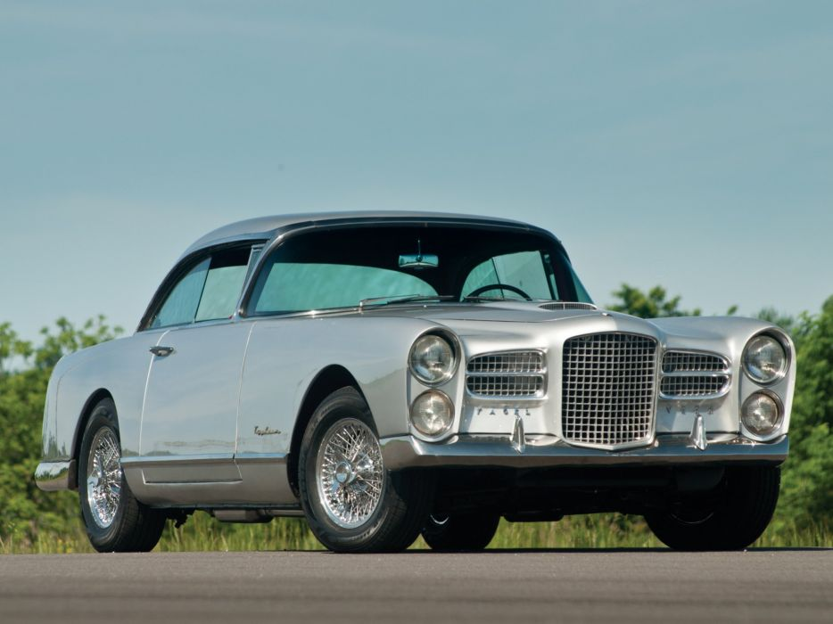 cars classic FV3 Facel-Vega french coupe wallpaper