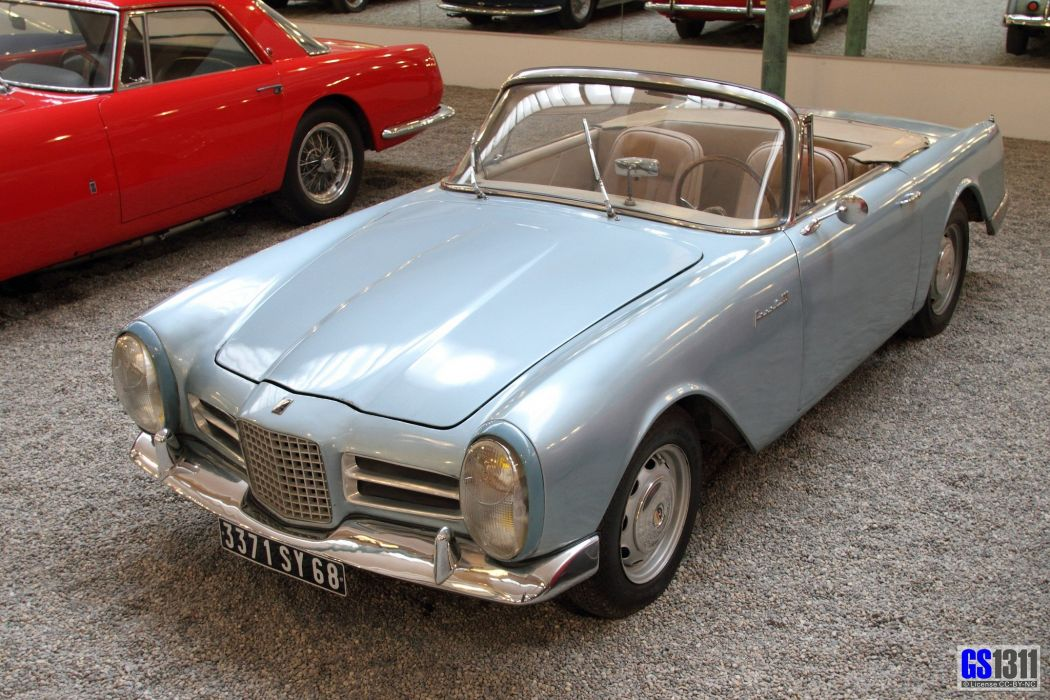 cars classic FV3 Facel-Vega french convertible wallpaper