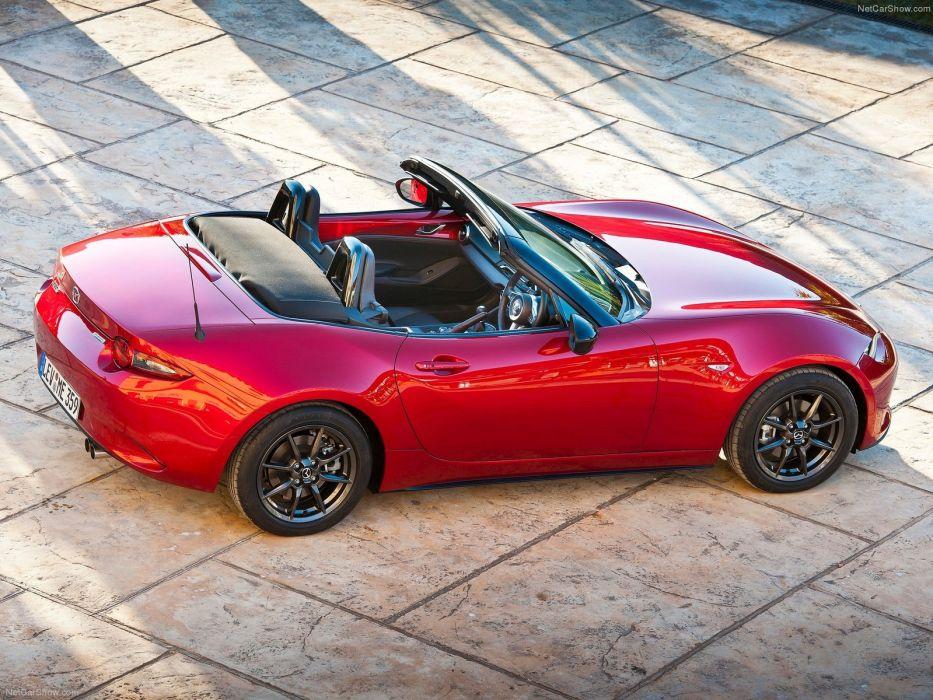 Mazda MX-5 cars spider convertible miata 2016 wallpaper