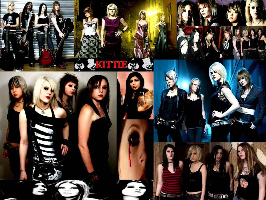 KITTIE heavy metal thrash death hard rock women woman wallpaper