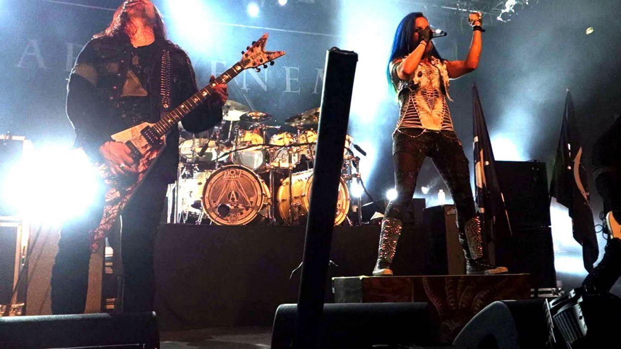 ARCH ENEMY death metal heavy progressive thrash concert guitar wallpaper