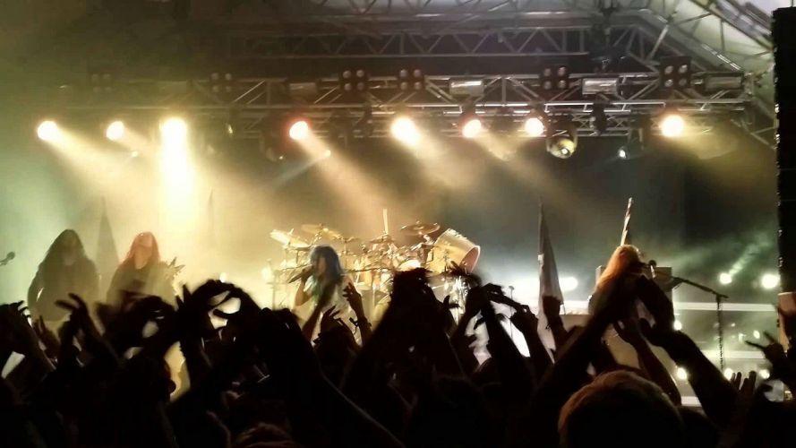 ARCH ENEMY death metal heavy progressive thrash concert wallpaper