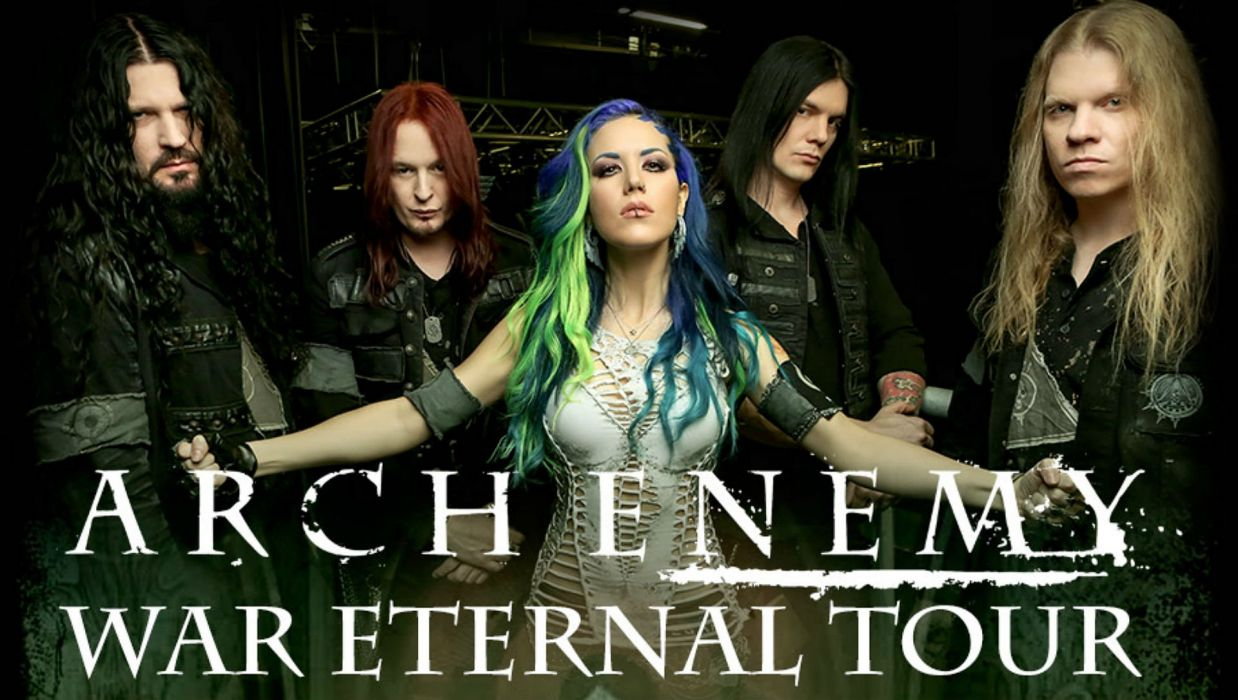 ARCH ENEMY death metal heavy progressive thrash poster wallpaper