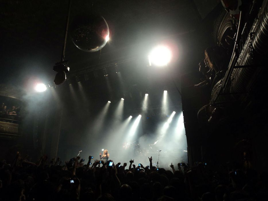 ARCH ENEMY death metal heavy progressive thrash concert crowd people wallpaper