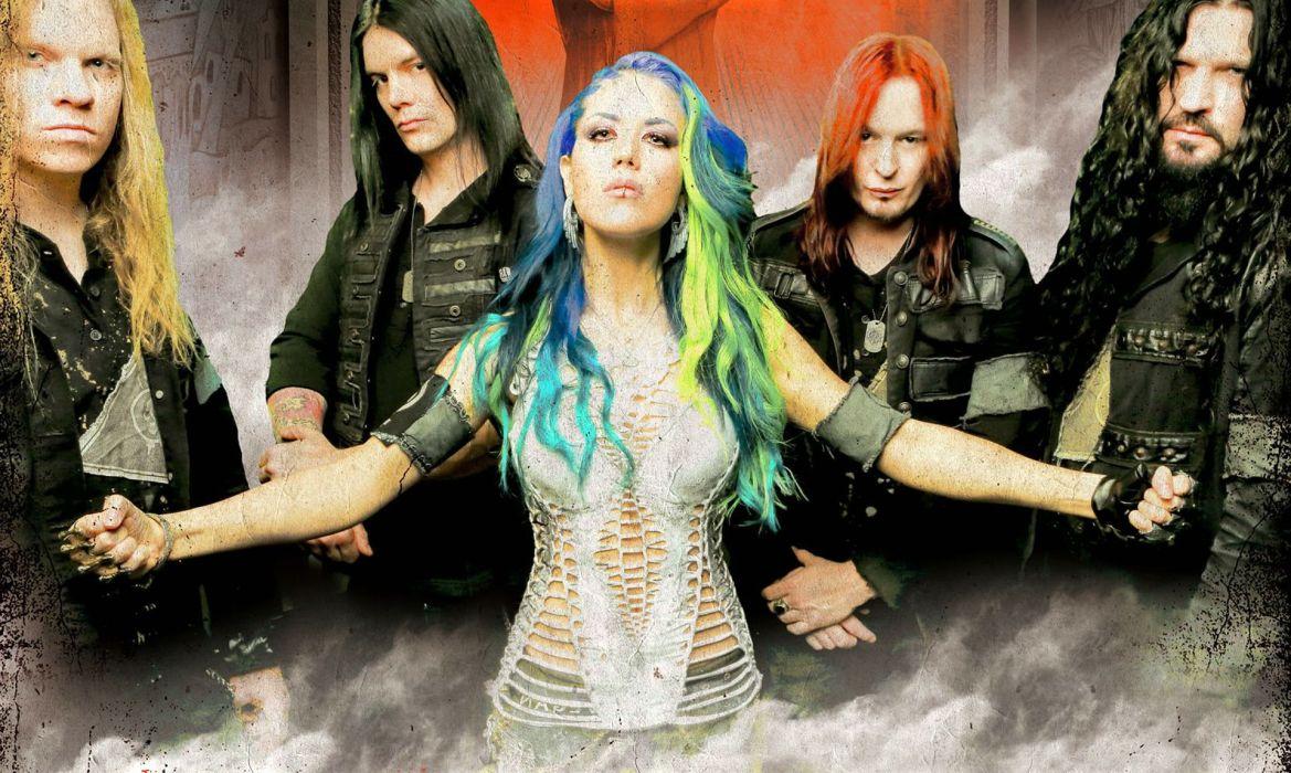 ARCH ENEMY death metal heavy progressive thrash wallpaper