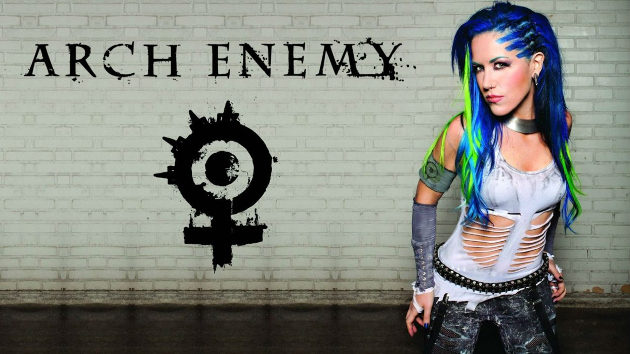 ARCH ENEMY death metal heavy progressive thrash poster singer wallpaper