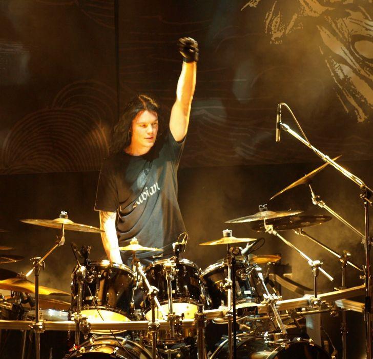 ARCH ENEMY death metal heavy progressive thrash concert drums wallpaper
