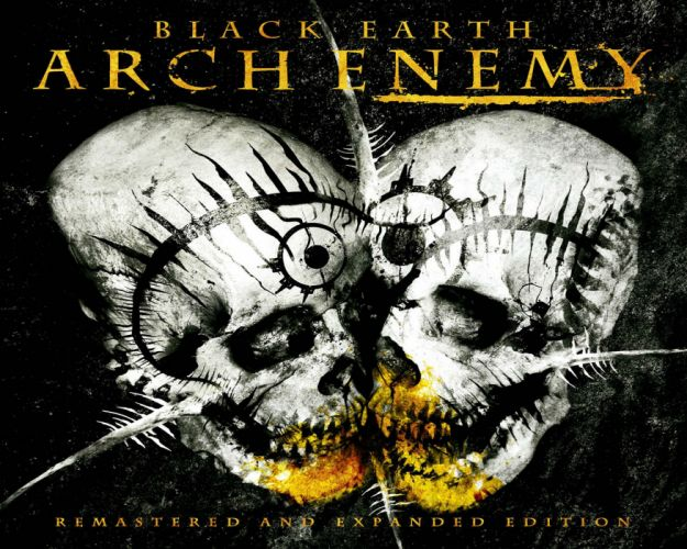 ARCH ENEMY death metal heavy progressive thrash poster dark skull occult satanic wallpaper