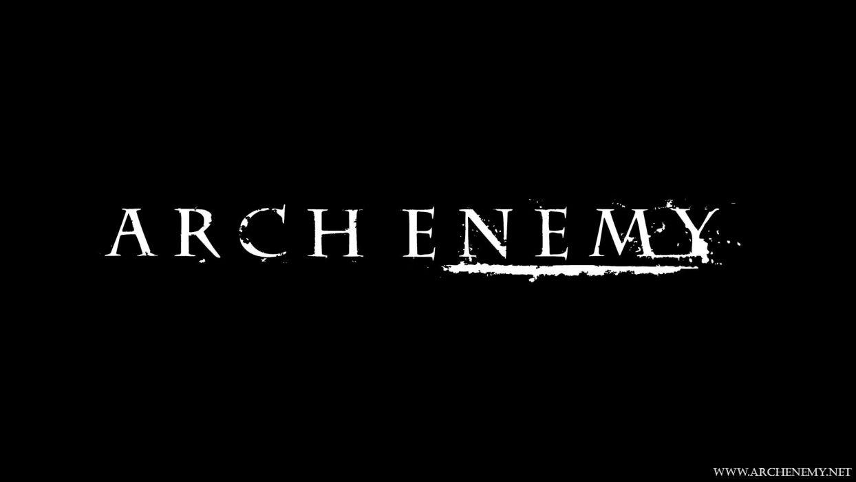 ARCH ENEMY death metal heavy progressive thrash poster wallpaper