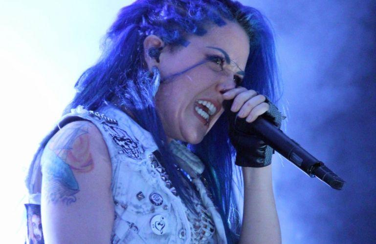 ARCH ENEMY death metal heavy progressive thrash concert singer wallpaper