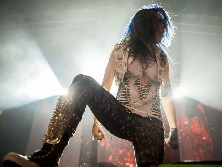 ARCH ENEMY death metal heavy progressive thrash concert singer wallpaper