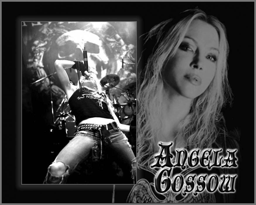 ARCH ENEMY death metal heavy progressive thrash concert singer poster wallpaper