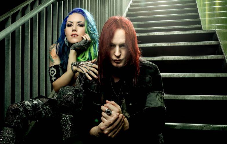 ARCH ENEMY death metal heavy progressive thrash singer guitar wallpaper