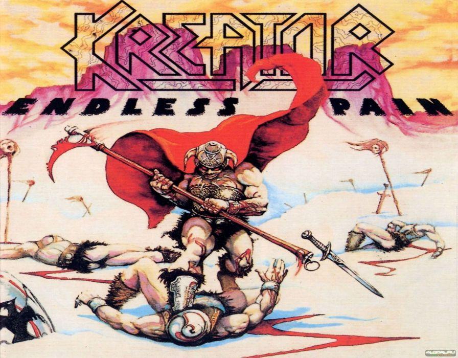 KREATOR thrash metal heavy rock dark evil poster fantasy warrior blood wallpaper