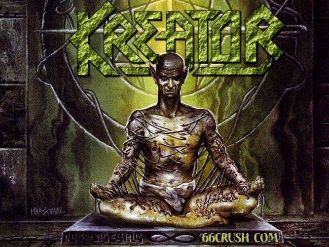 KREATOR thrash metal heavy rock dark evil poster wallpaper