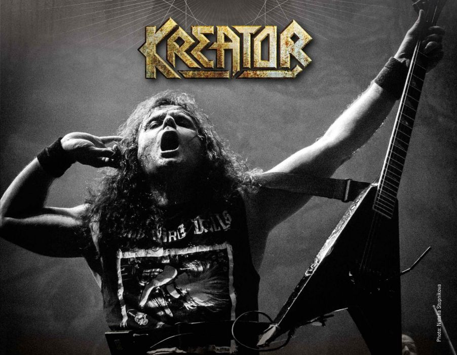 KREATOR thrash metal heavy rock poster concert guitar wallpaper