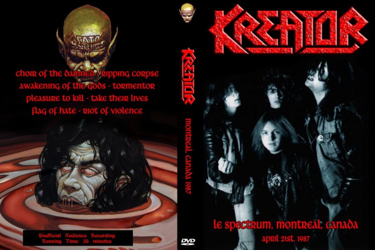 KREATOR thrash metal heavy rock dark evil poster wallpaper