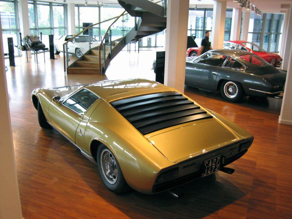 Lamborghini Miura classic cars supercars coupe italie italia wallpaper