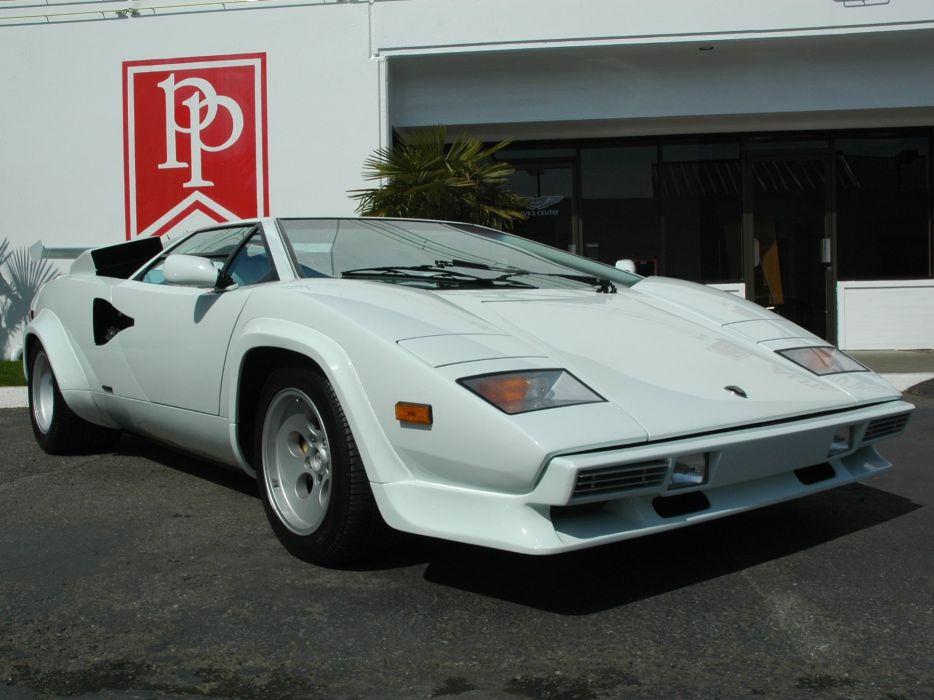 Lamborghini countach classic cars supercars coupe italia italie wallpaper