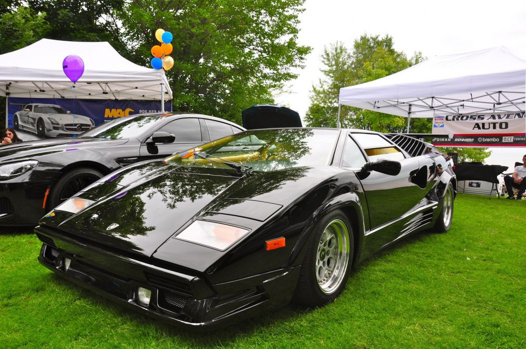 Lamborghini countach classic cars supercars coupe italia italie wallpaper