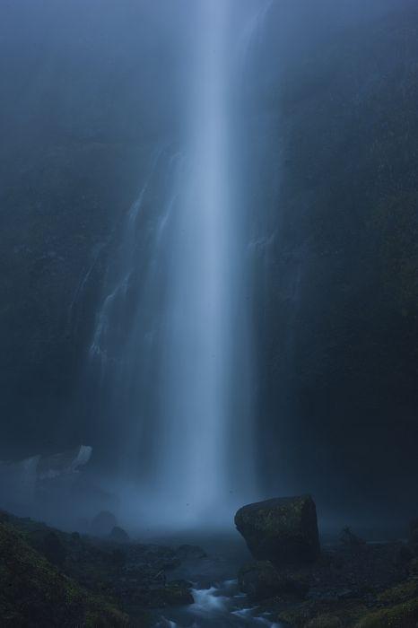 waterfall landscape mood wallpaper