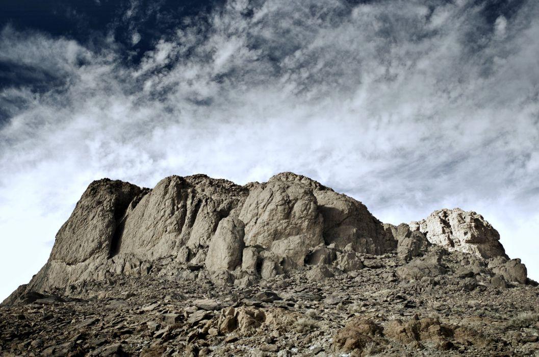 Algeria hoggar tassili mountains desert wallpaper