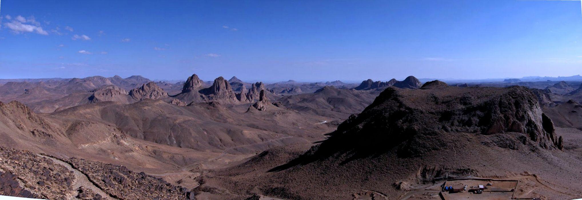 Algeria hoggar mountains assekrem wallpaper