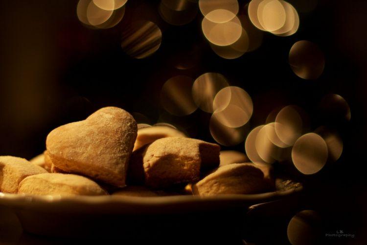 Golden Day foot mood cookies heart wallpaper