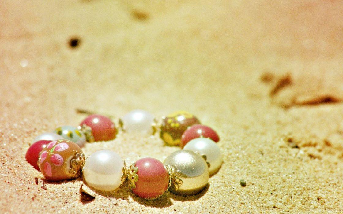 sand jewelry bracelets love beauty wallpaper